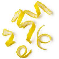 Écorce de citron frais