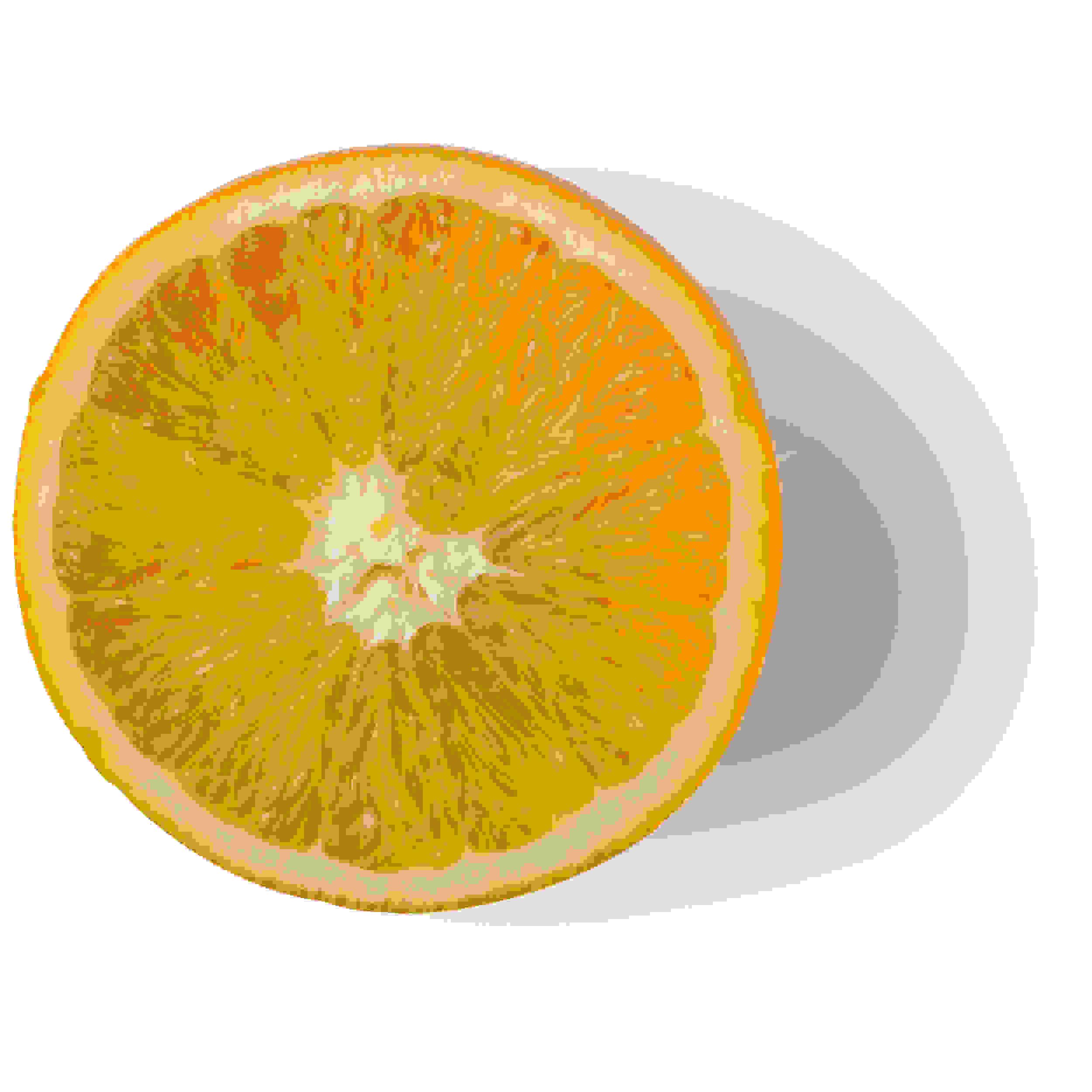 Purée d'orange