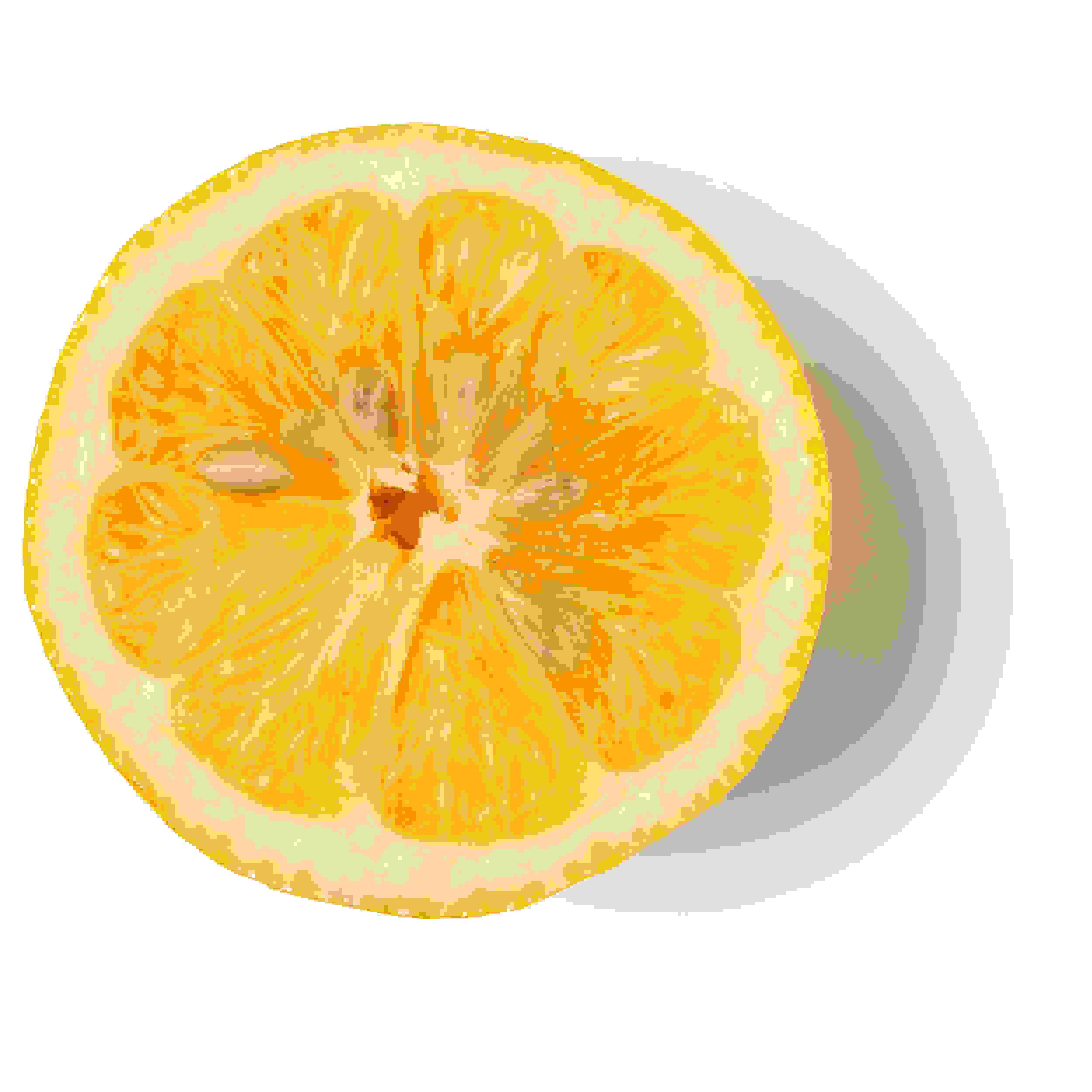 Jus de citron frais biologique