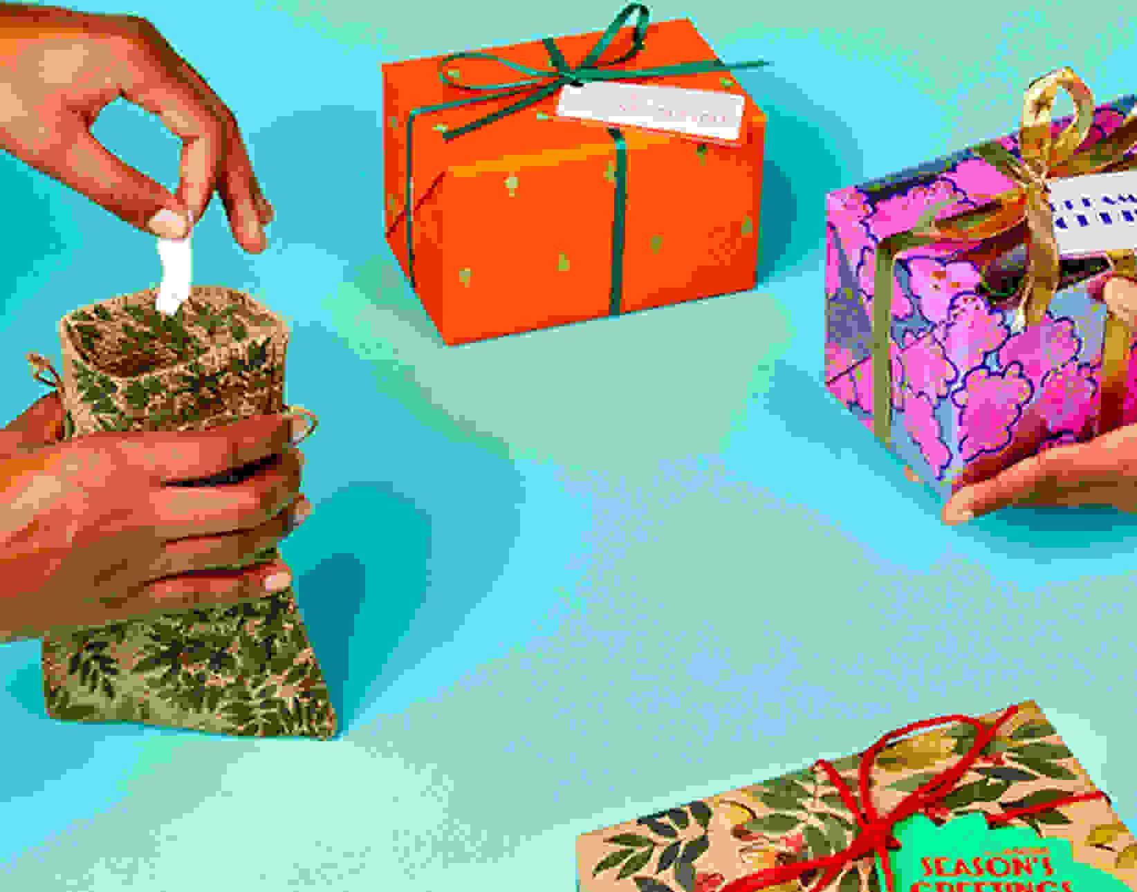 Image card - Un échange de cadeaux réussi