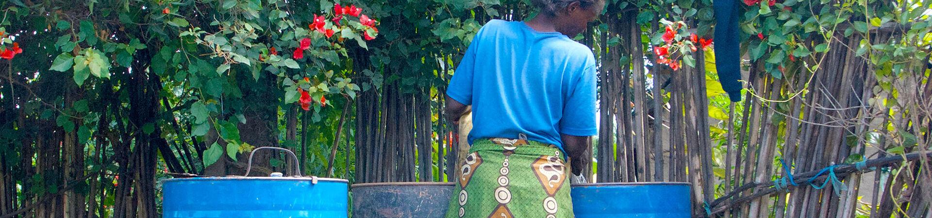 Banner - Récolte d'eau de pluie en Tanzanie avec Save the Rain