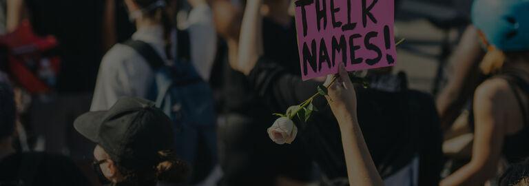 Banner - Black Lives Matter