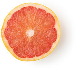 Pink Grapefruit Peel Decoction