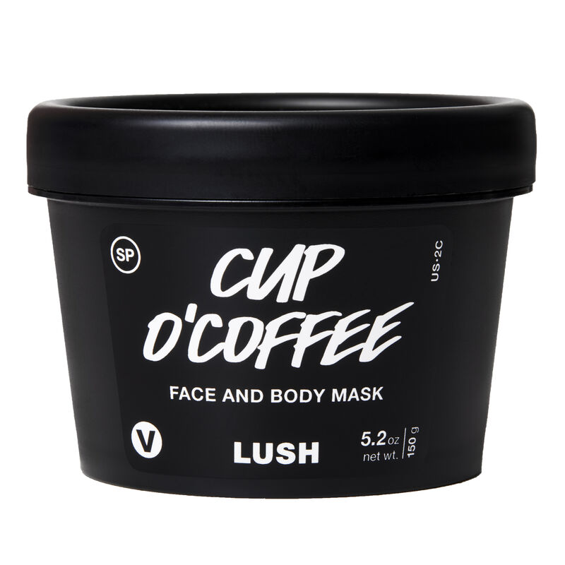 LUSH Coffee Face Scrub