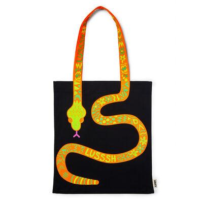 Sac en tissu Serpent