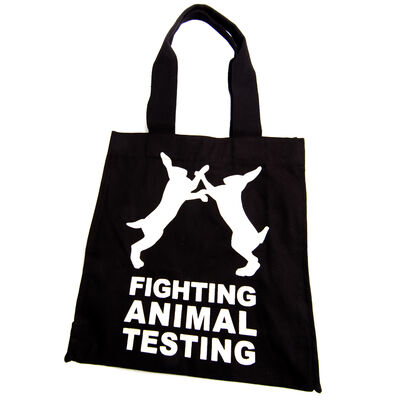 Fighting Animal Testing Bag