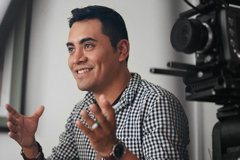 Armando Ibañez, a queer Latinx filmmaker and activist from Mexico.