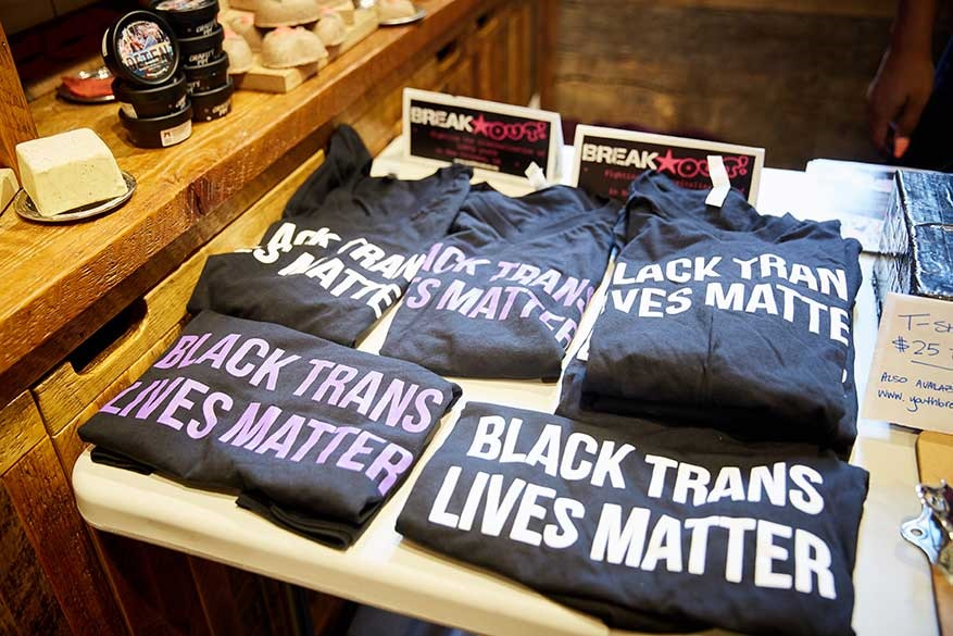 Black trans lives matter t-shirts